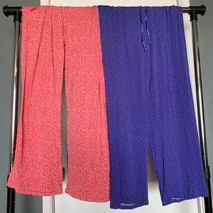 set of two like new Midnight Carole H pajama pants